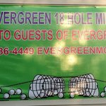 Foto van Evergreen Motel