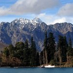 The stunning Remarkables mountain ranges