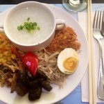International breakfast buffet ~ Taiwan congee