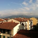 View from the balcony of Il Grillo