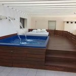 piscine privative dans les suites uniquement