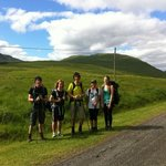 5 teenagers take to the hills