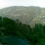Kasauli Town away from Resort
