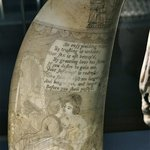 Scrimshaw at the Nantucket Whaling Museum