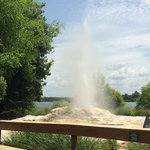 The Geyser at Wilderness Lodge