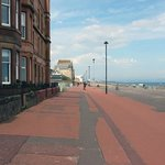 Portobello Esplanade; just down the street from Ardgarth