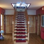 Beautiful staircase at Hillsea B&B