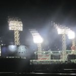 The bright lights of Fenway