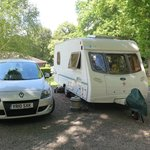 Φωτογραφία: Abbey Wood Caravan Club Site
