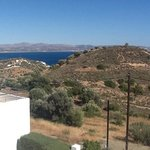 panorama from the villas' balcony