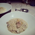 risotto mantecato al filetto di lavarello