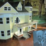 Small model of the house Gerald Ford was born in
