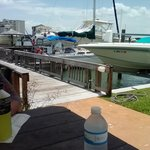 Lunch by the dock