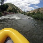 """Fun outdoor activity """" Weber River """" by Mary Grimes"""