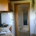 Kitchenette with Bathroom behind ...