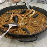 Exquisito arroz marinero