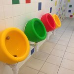 Cool urinals!