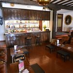 Ground floor bar at Hotel Museo Los Infantes.