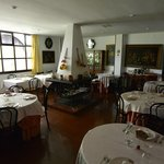 Dining room at Hotel Museo Los Infantes.