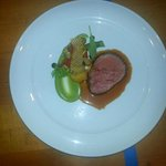 4th Course Beef tenderloin