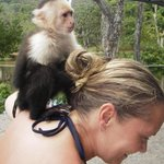 The only time I actually enjoyed having a monkey on my back! ��