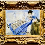 Renoir, Portrait of Madame Claude Monet
