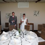 Beautiful table and decorations at our wedding 23.6.14