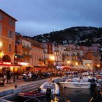 Villefranche waterfront, from the dock in front of hotel