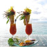 Coctails on the sea