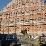 Hawa Mahal - Palace of Wind Foto
