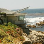 House along ocean walk in Carmel