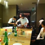 One Table experience with chef