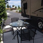Patio Next to RV