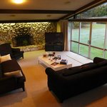 Living room for guests to lounge in