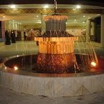 Beautiful fountain of Naura Springs Hotel