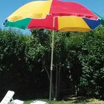 Our lovely umbrella, £1900.00 worth??????