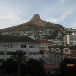 View of Lions Head from my room...