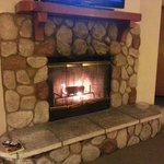 love cute fireplace =)