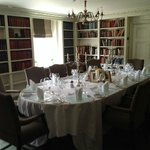 Private dining area, in the Library
