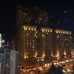 View of the hotel from the Cheesecake Factory!