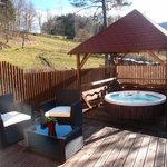 Chalet Rondin, jacuzzi privatif