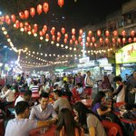 Plenty of eateries in Jalan Alor