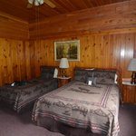 Knotty Pine Rooms in the Inn