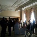Function room for wedding pictures