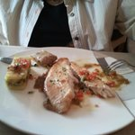 suggestion  (poisson maigre) plat