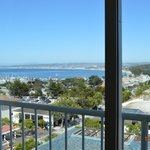 View of Monterey Bay from room