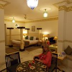 Our room at the fort rajwada
