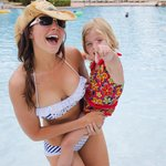 Me and the kiddo at the Water Park