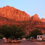 Foto van Zion Canyon Campground