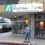 David no Austral Hotel Montevideo.